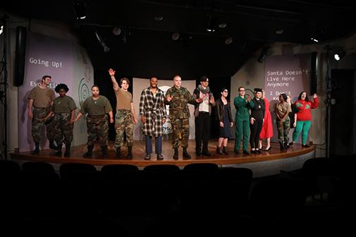 Students direct series of 10-minute plays – Community