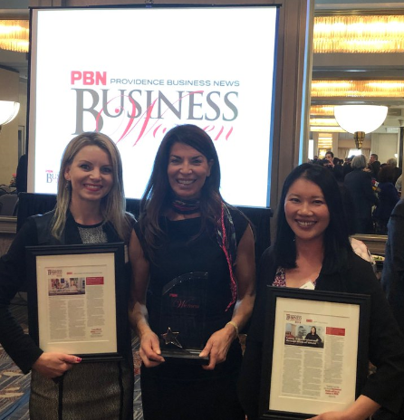 Business Women Award winners