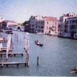 On the weekends one can see many tourists strolling up and down the canals of Venice on their gondolas