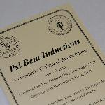 Psi Beta Induction