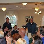 Fall Golf Classic 2015 Dinner and raffle