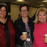 Christmas Coffee hour at the Flanagan Campus