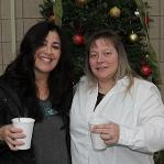 Christmas coffee at the Newport County Campus