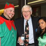 Children's Christmas party sponsored by the Liston Student Government