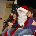 Santa makes an appearance at Children's Christmas party sponsored by the Liston Student Government