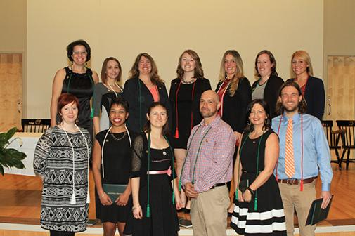 Occupational Therapy Assistant Program Pinning Ceremony Photo