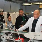 Bermuda students from the Berkeley Institute  visited the Community College of Rhode Island