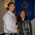 Phi Theta Kappa spring induction ceremony
