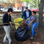 Spring clean up sponsored by Liston Student Government