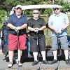 14th annual Alumni Association golf tournament foursomes