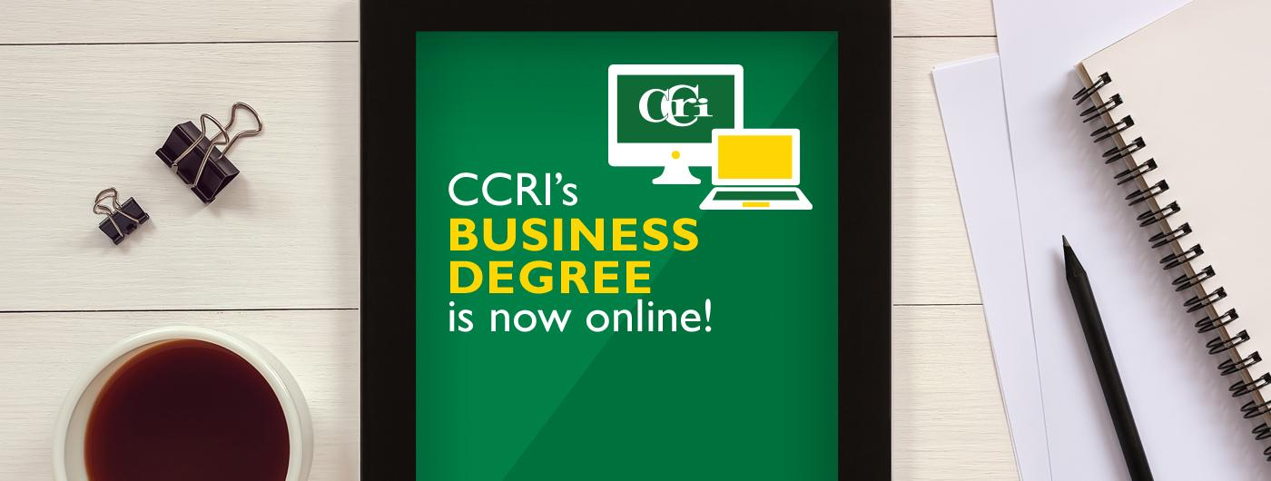 Apply today for spring at ccri.edu/distance.
