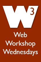 Web Workshop Wednesdays