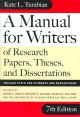 A Manual for Writers of Research Papers ... (Turabian - Chicago Style)