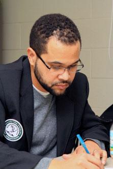 Ismael De Brito, Student Ambassador