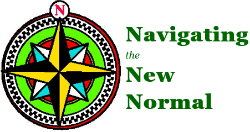 Navigating the New Normal support group logo